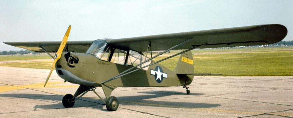 Aeronca L-3B Planta