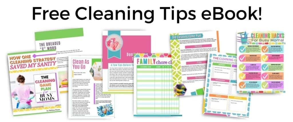 Free Cleaning Game Plan eBook