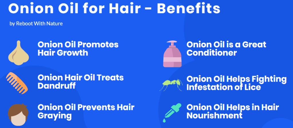 onion oil for hair benefits