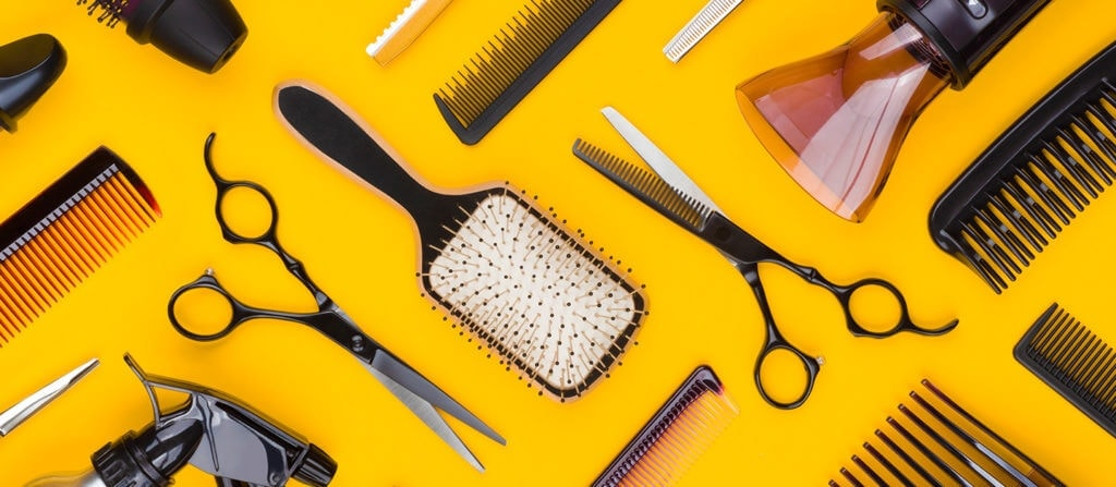 Hairdresser accessories for beauty insurance by Thimble