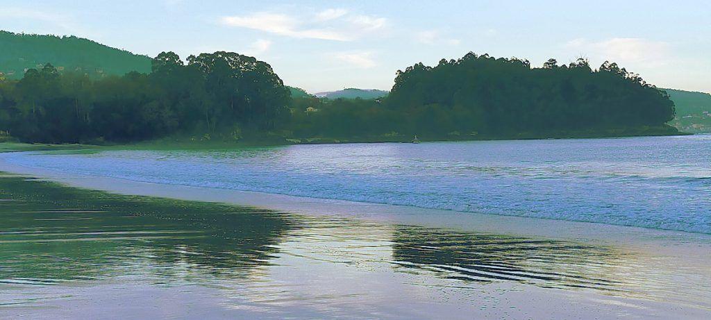 Playa de Lapamán y Muiño Vello