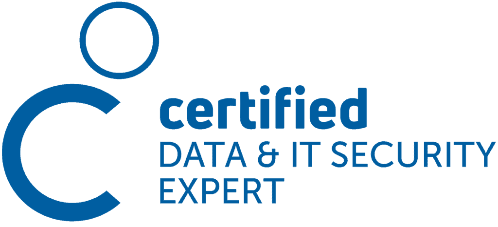 Logo certified Data & It Security Expert
