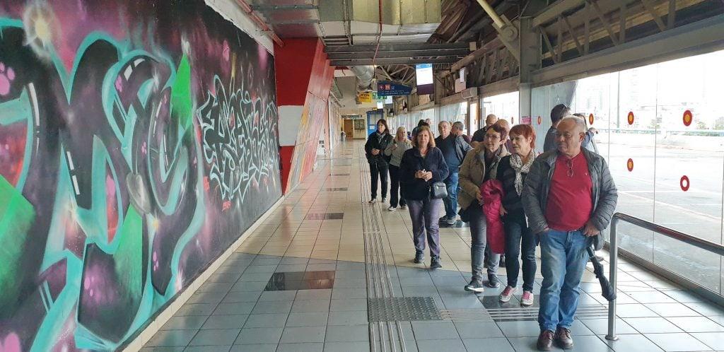 """טיול גרפיטי ואמנות רחוב בתחנה המרכזית בת""""א"""