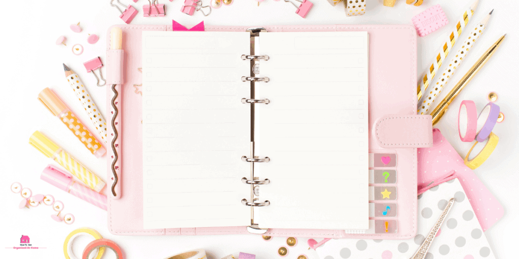 how to use a planner