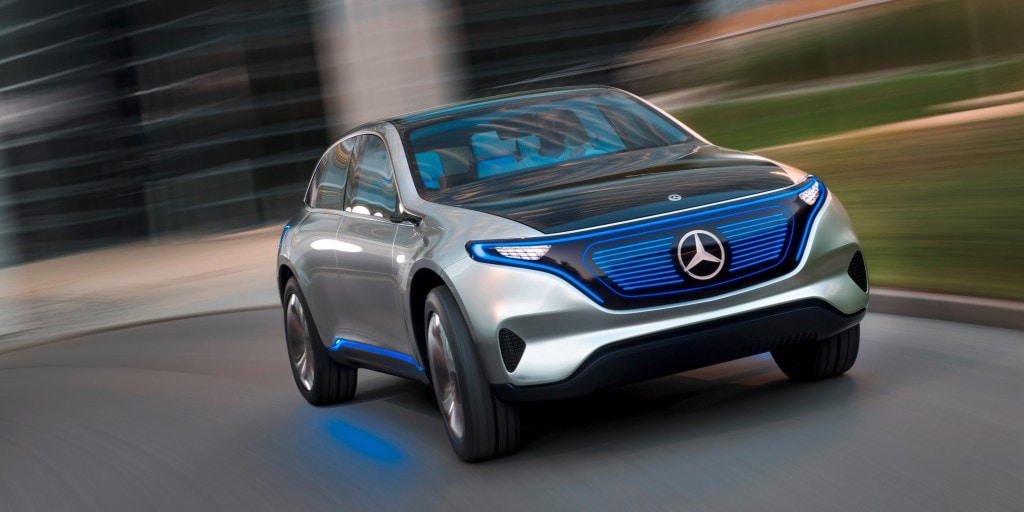 mercedes top 10 electric cars