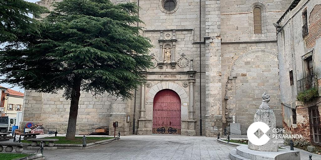 La iglesia de Peñaranda reabre sus puertas al culto público