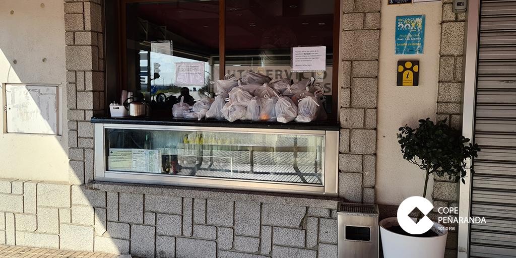 El punto solidario para transportistas de Los Álamos durante el covid