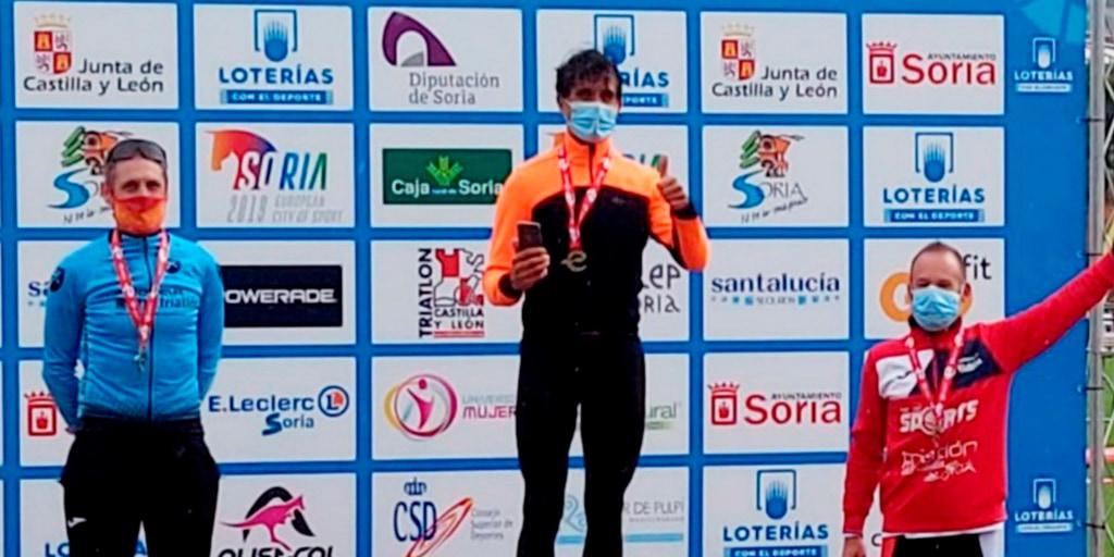 Fran Blázquez, campeón de España de duatlón en su grupo de edad