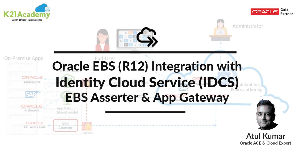 EBS Integration with IDCS
