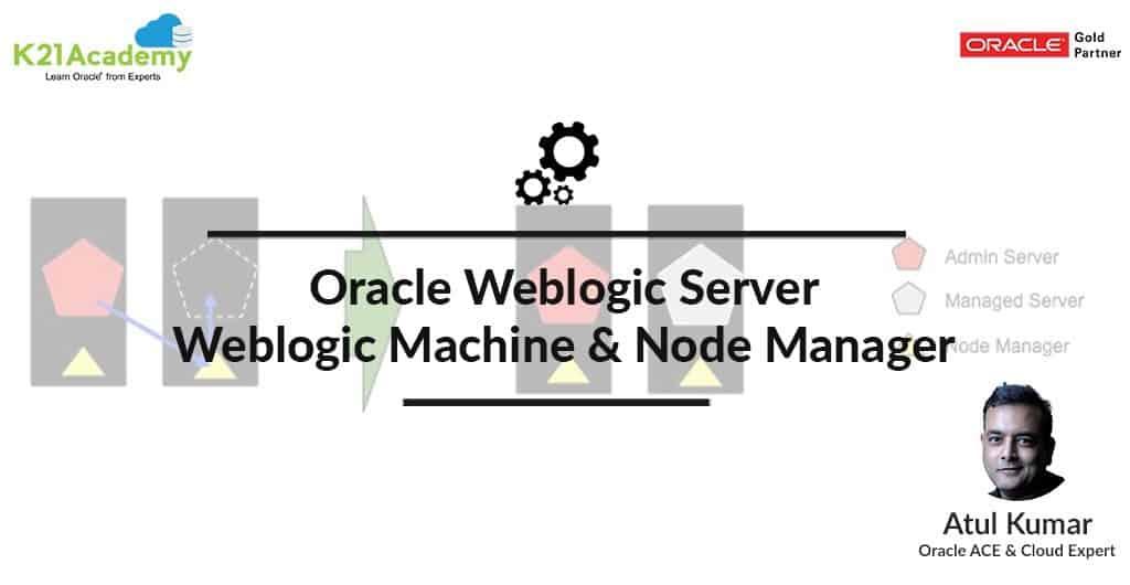 Weblogic Machine, Node Manager, Weblogic Server, Start, Stop