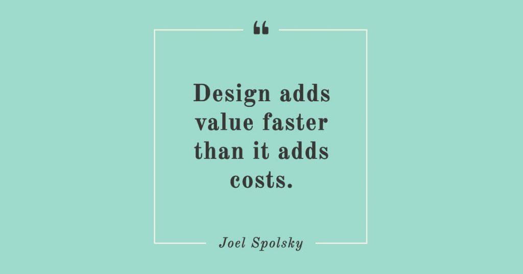 Minimalist Quote design