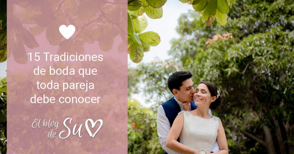 15 Tradiciones de boda que toda pareja debe conocer - El blog de Su - Susana Morales Wedding & Event Planner