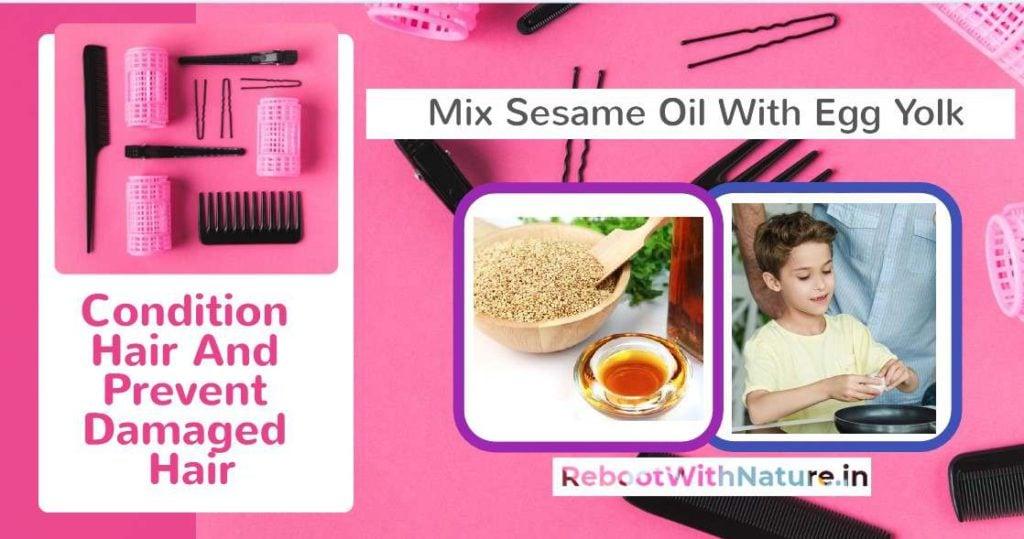 Sesame Oil For Hair