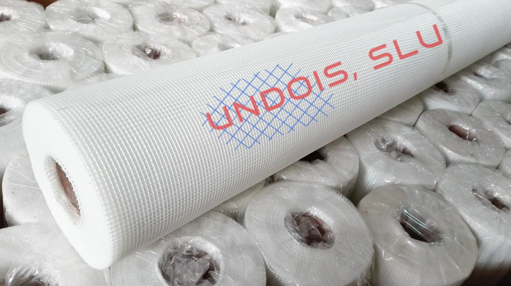 Malla de fibra de vidrio para impermeabilizar terrazas, cubiertas y techos