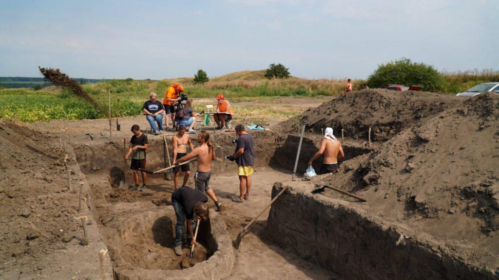 На Західному укріпленні Більського городища завершуються розкопки
