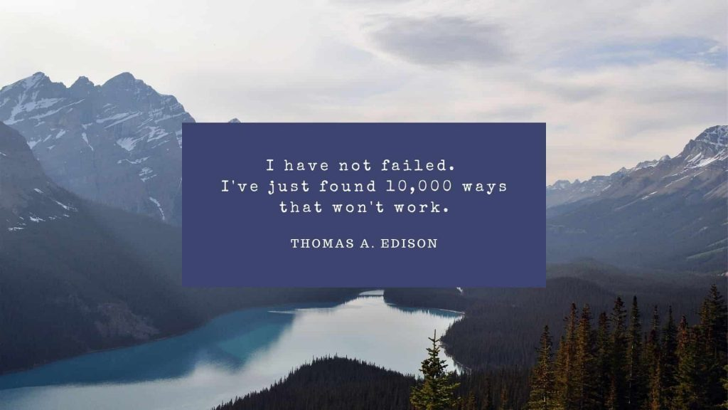 Motivational Quotes from Thomas Edison