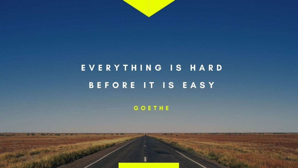 Motivational Quote from Goethe