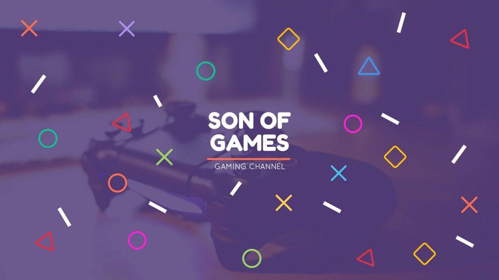 gaming banner YT