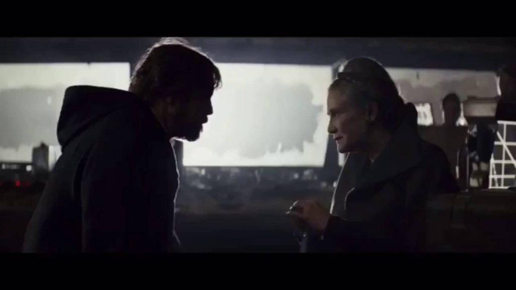 Luke Skywalker, Leia Organa, TROS, TLJ The Rise of Skywalker Last Jedi