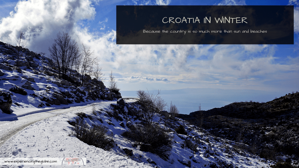 Come spend you winter holidays in Croatia! The country is not only sun and beaches, it offers hot springs, snow-covered castles, skiing, wine, carnivals, festivals, and the most charming Christmases. Visit Croatia in winter and be amazed! – Experiencing the Globe #Croatia #Hrvatska #CroatiaInWinter #ChristmasInCroatia #HotSpringsInCroatia #CroatianCastles #CroatianNationalParks #WineTastingInCroatia #SkiingInCroatia #RijekaCarnival #CroatiaTravel