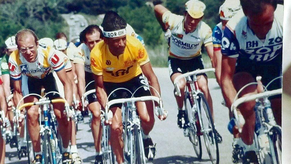Ciclismo Galicia 1887: Álvaro Pino, ganador Vuelta 1986