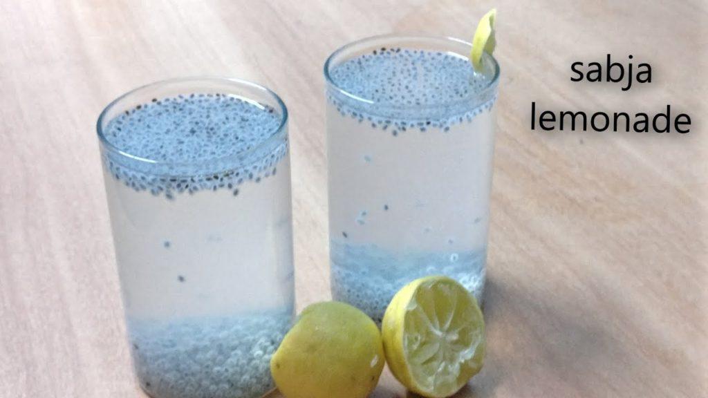 Sabja seeds for weight loss - Sabja lemonade