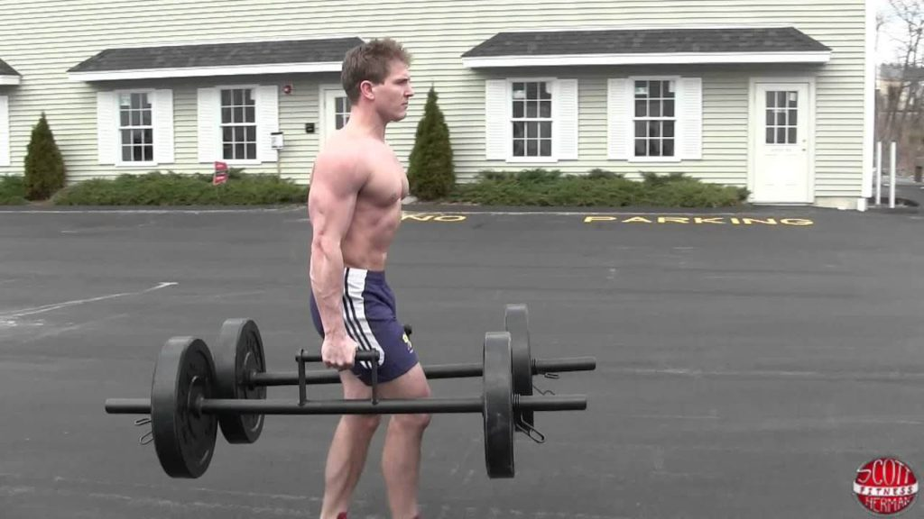 Farmer Walks Easy Exercises For Forearm
