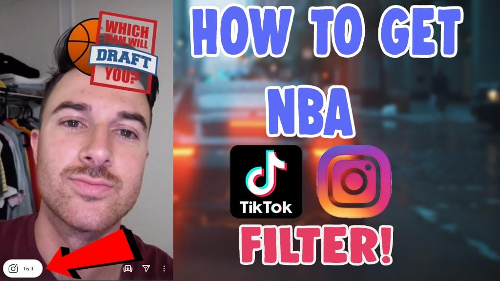 how to do nba filter on tiktok and instagram