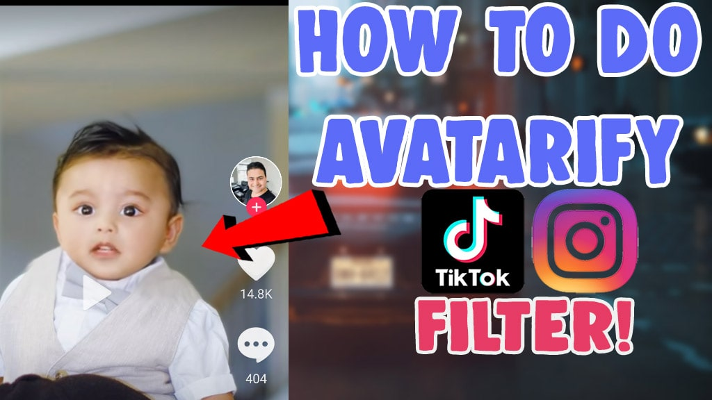 avatarify photo music trend filter tiktok instagram