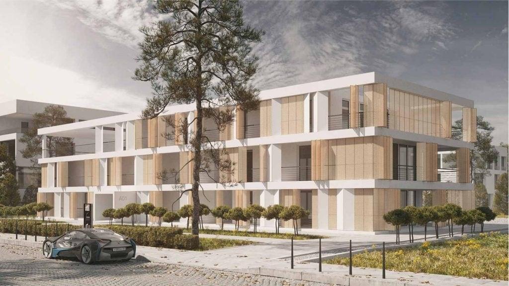 Freiraum – Baukastensystem für mehrgeschossige Wohnhäuser