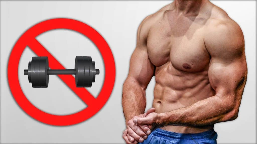 no weight chest workout