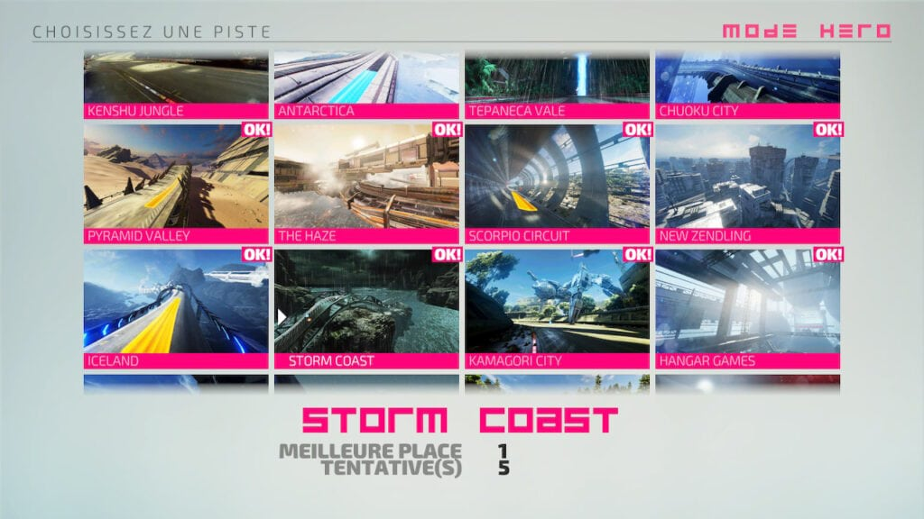 Mode Hero Subsonic Storm Coast réussi