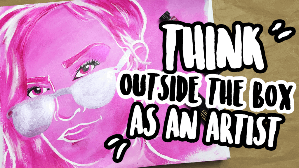 creative thinking outside the box artist