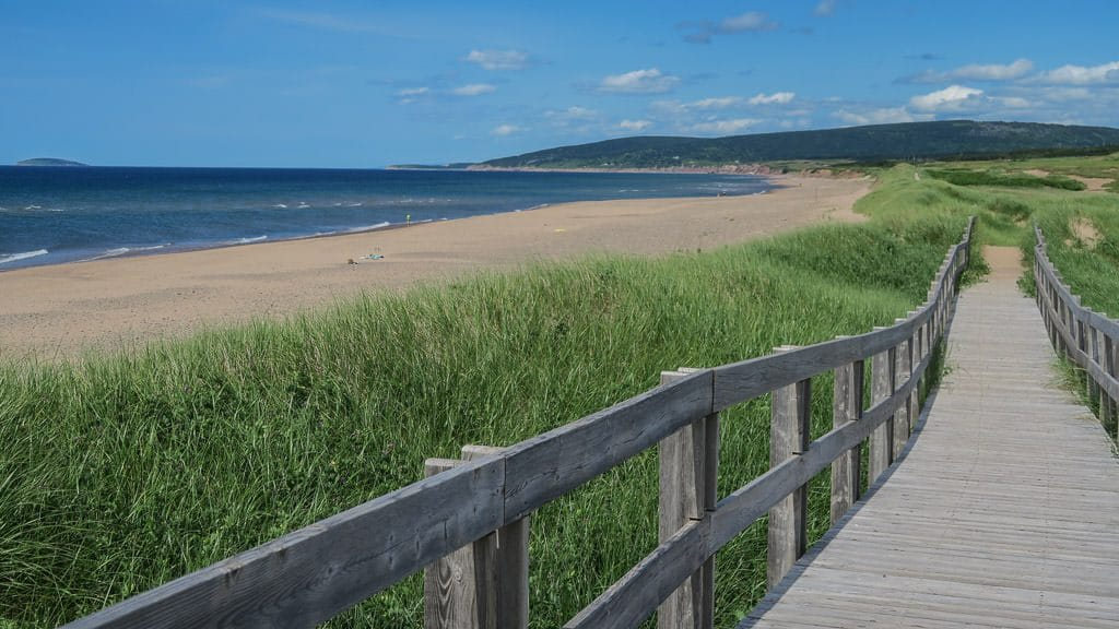 Boardwalk along the Inverness Beach Loop Trial