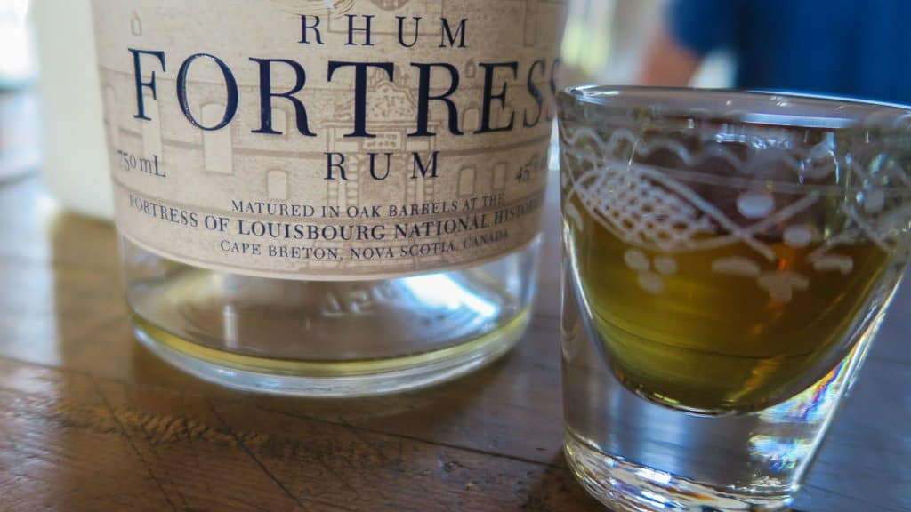 Fortress of Louisbourg's Fortress Rhum