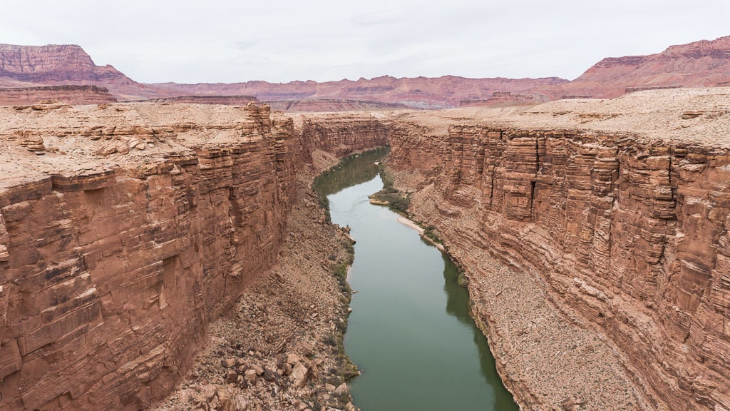 Marble Canyon about 45 minutes from Page Arizona