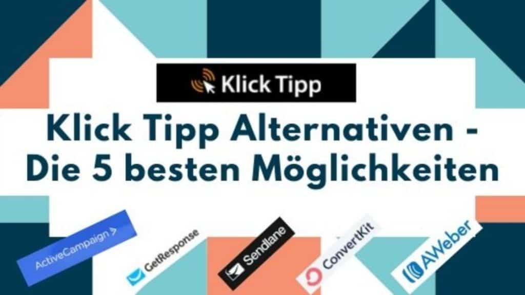 Klick Tipp Alternativen blog banner
