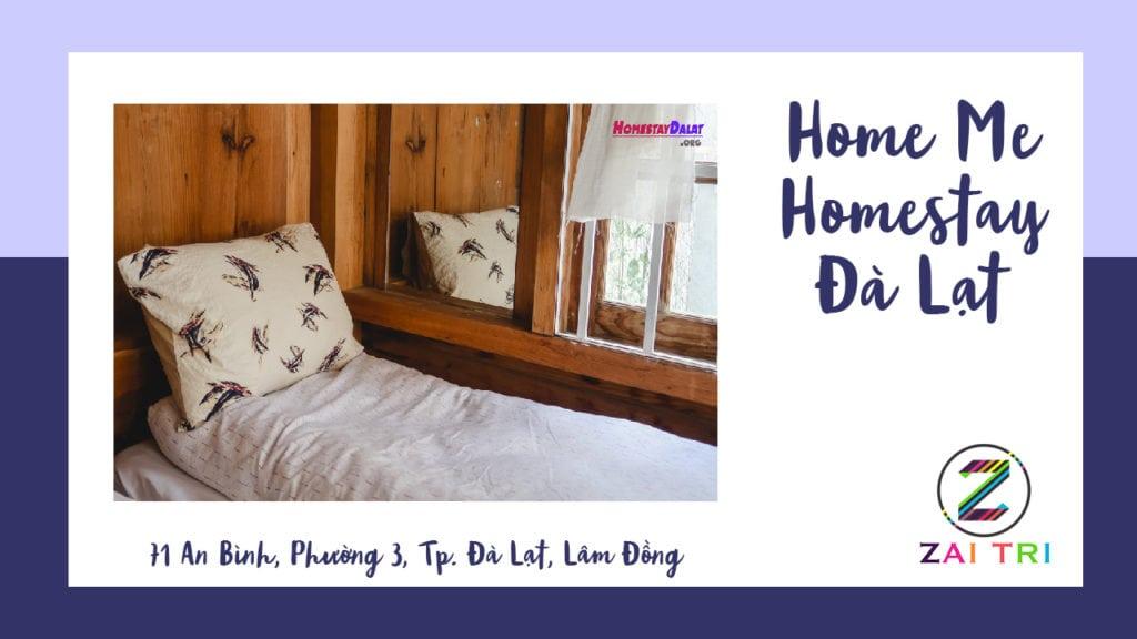 Home Me homestay - Top 8 homestay Đà Lạt 2019