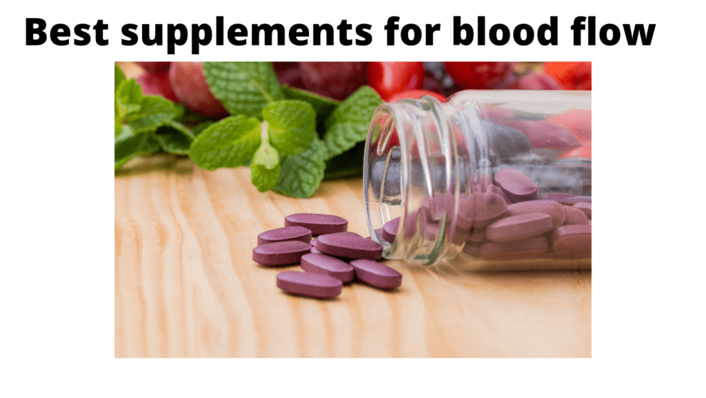 Best supplements for blood flow image