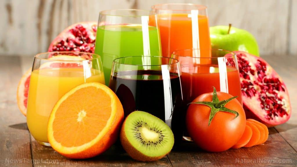 fruit juice for inflammation