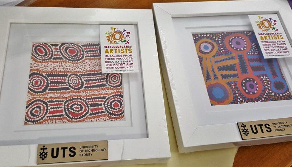 Simply colourful Australian business gift idea