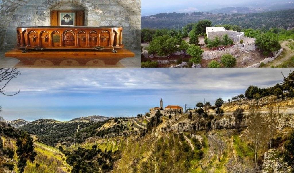 Saint Charbel Annaya Byblos Lebanon tour package