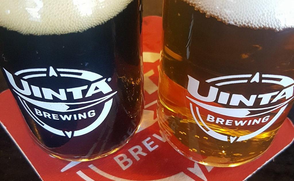 Beer from Uinta brewing in Salt Lake City