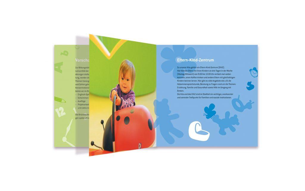 Elbkinder An der Falkenbek 16-seitige Broschüre Innenseiten