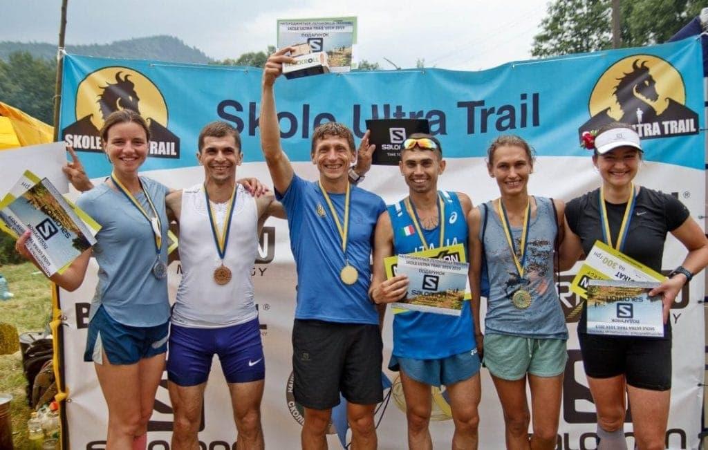 Фото победителей Skole Ultra Trail