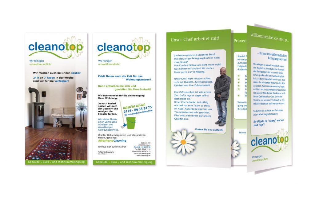 Cleanotop-Flyer