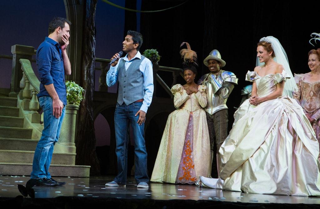 Photo 5 A Gay Wedding Proposal at Broadway's Cinderella | VladLeto