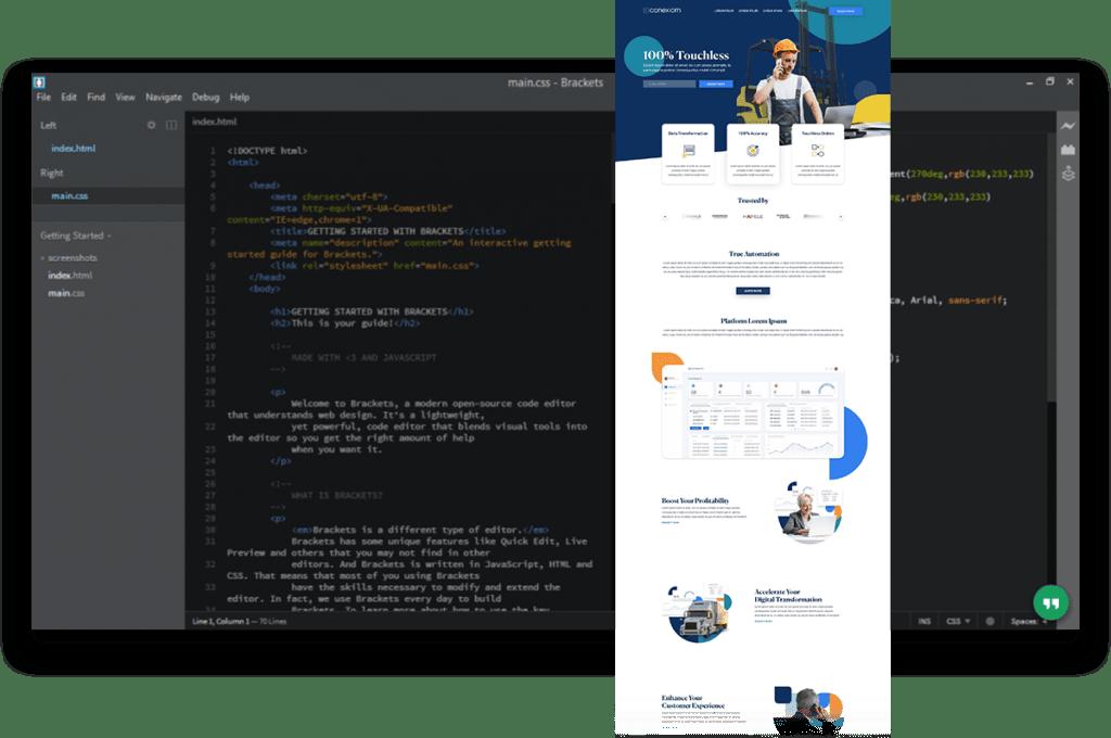 projektowanie strony www kod