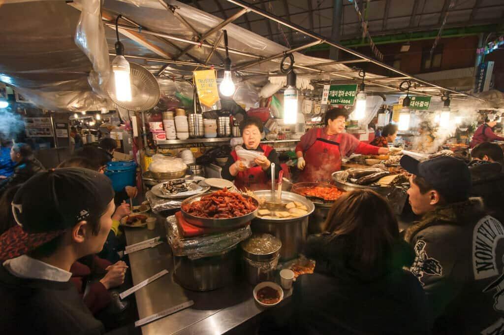 Visit Gwangjang Market
