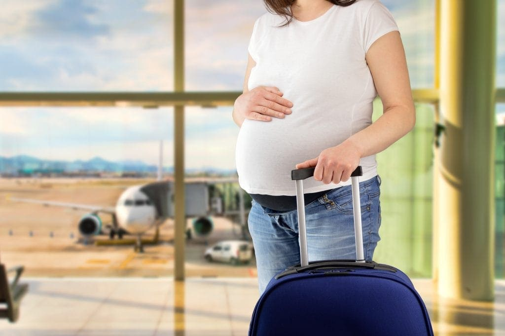 Can you fly when pregnant